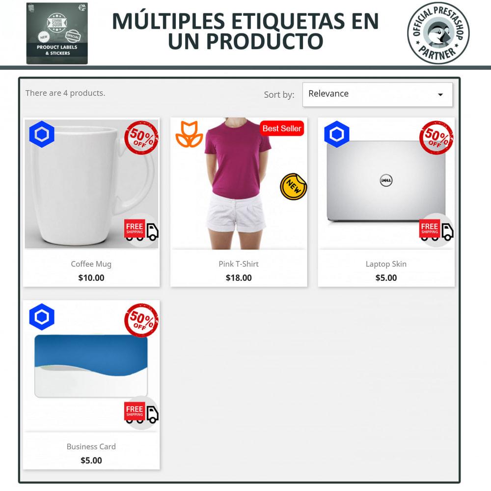 module - Etiquetas y Logos - Etiquetas y pegatinas del producto - 3