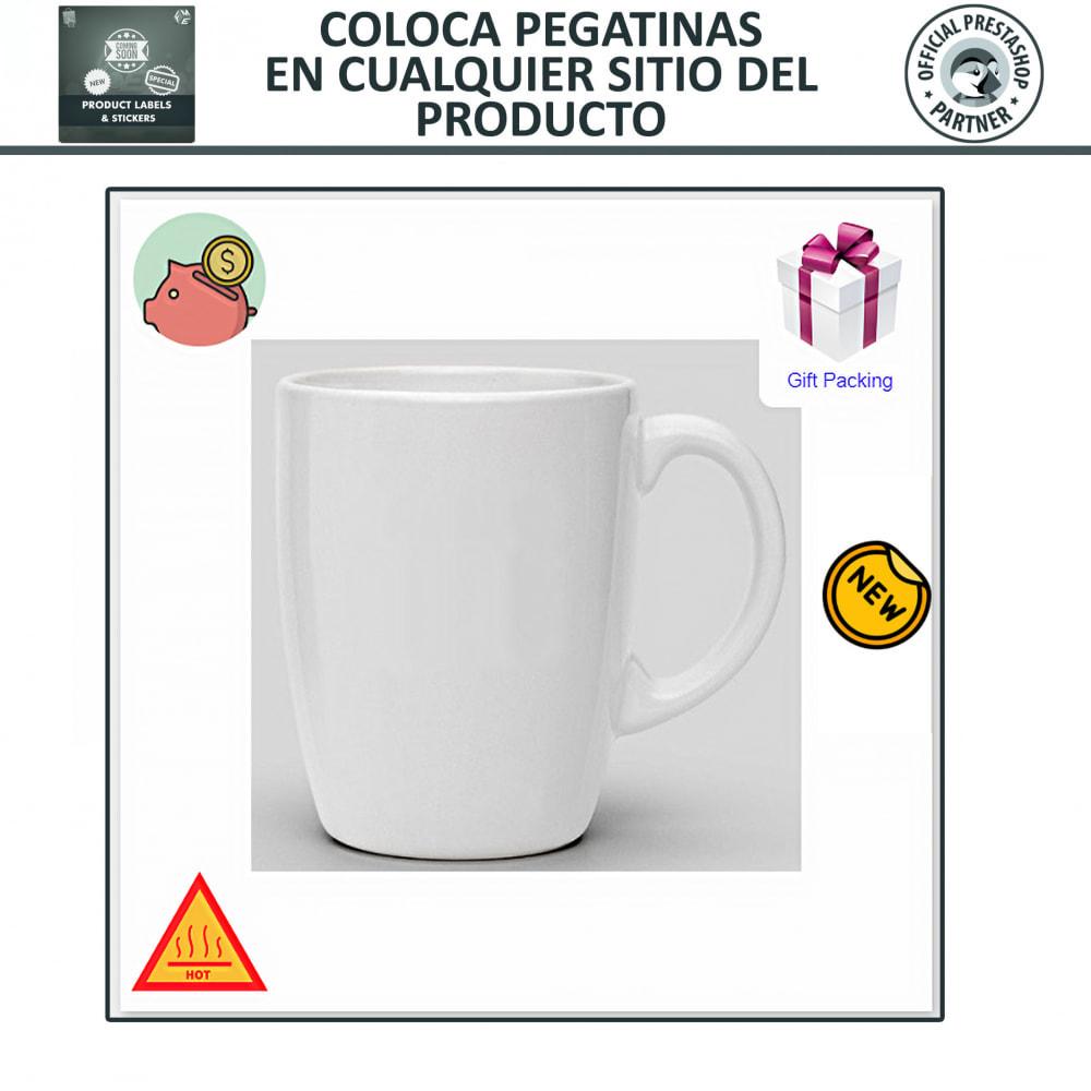 module - Etiquetas y Logos - Etiquetas y pegatinas del producto - 5
