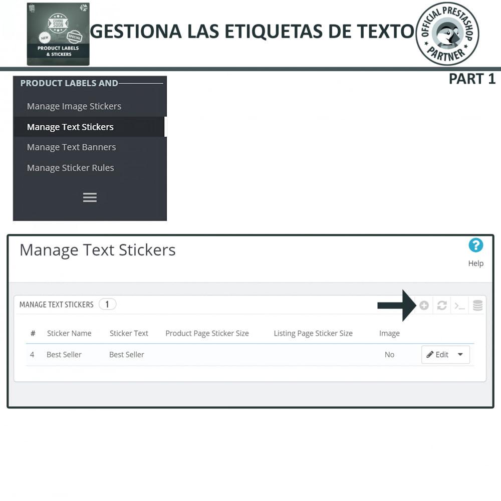 module - Etiquetas y Logos - Etiquetas y pegatinas del producto - 9