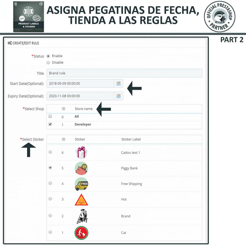 module - Etiquetas y Logos - Etiquetas y pegatinas del producto - 13