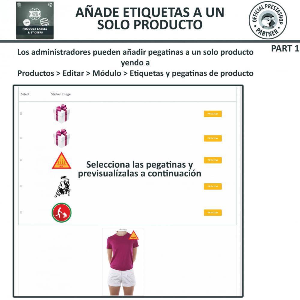 module - Etiquetas y Logos - Etiquetas y pegatinas del producto - 15