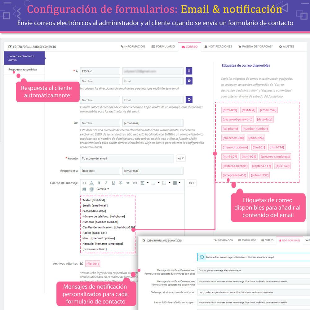module - Formulario de contacto y Sondeos - Contact Form Ultimate: Arrastra y suelta formularios - 8