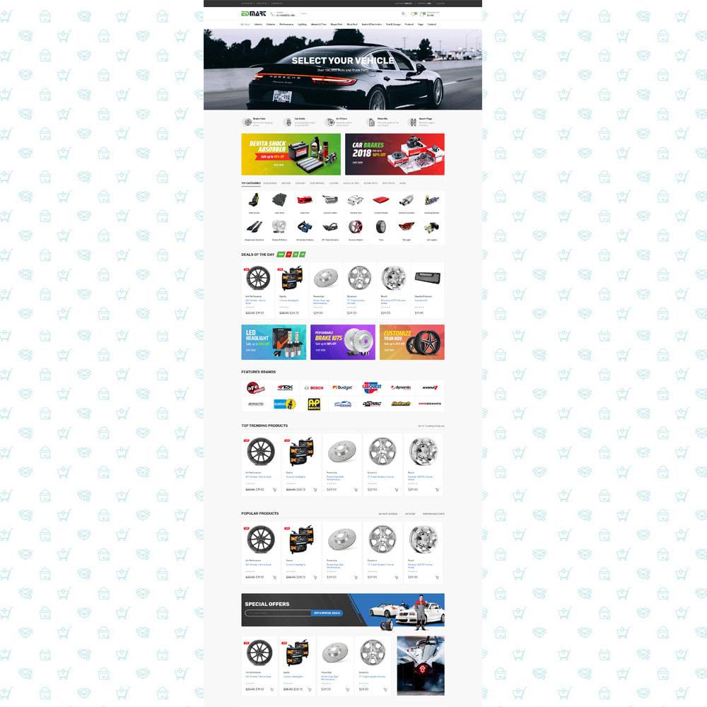 theme - Automotive & Cars - Edmart - Auto Parts &  Cars Store Template - 2