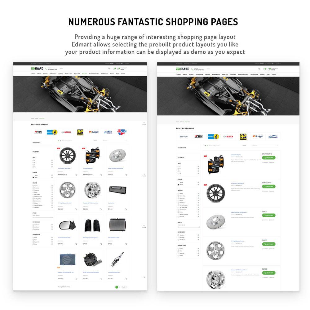 theme - Automotive & Cars - Edmart - Auto Parts &  Cars Store Template - 3