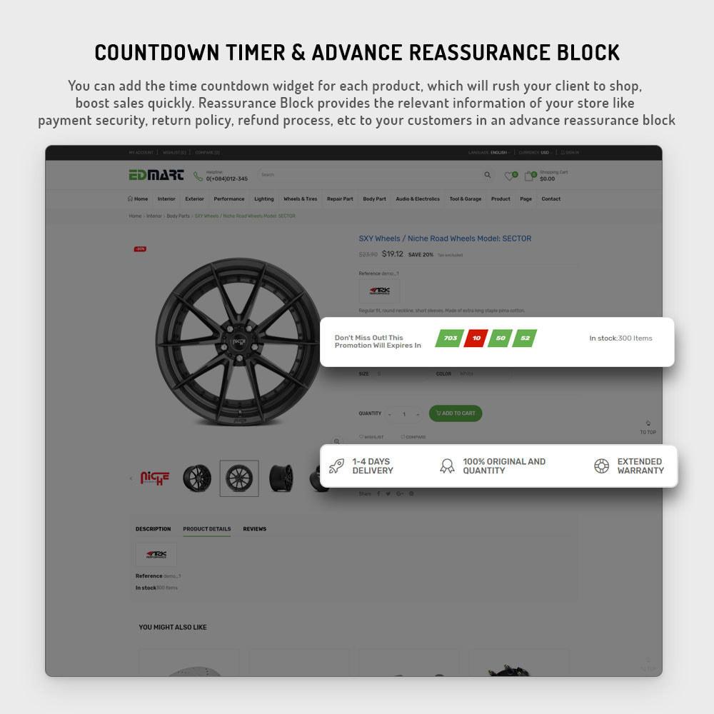 theme - Automotive & Cars - Edmart - Auto Parts &  Cars Store Template - 6