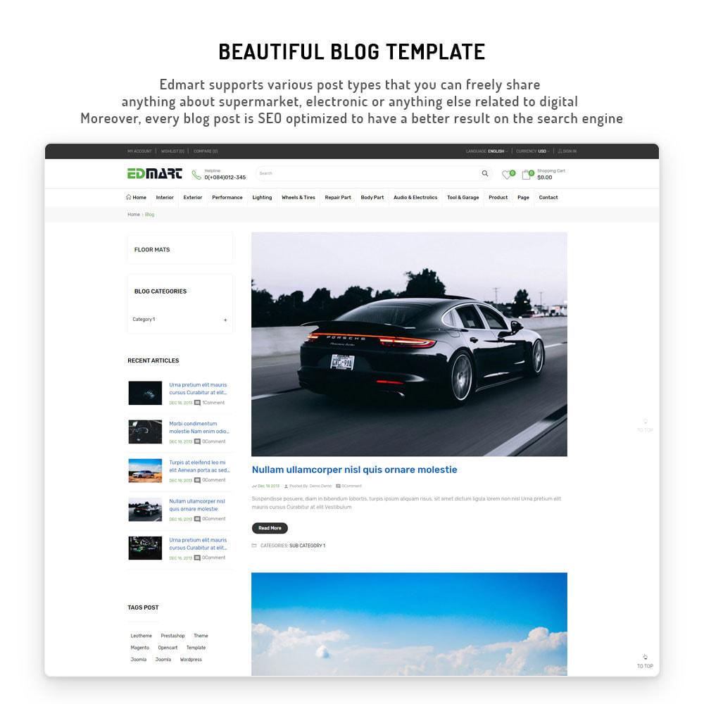 theme - Automotive & Cars - Edmart - Auto Parts &  Cars Store Template - 11