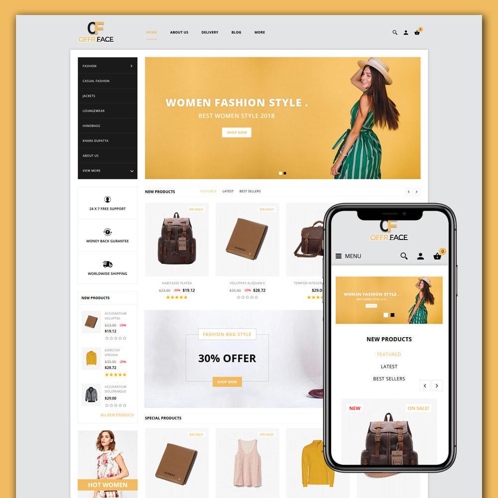 theme - Fashion & Shoes - Offerface Fashion Store - 1