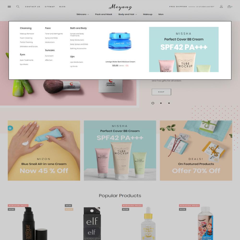 theme - Santé & Beauté - Meyang - Korean Cosmetics Shop - 8