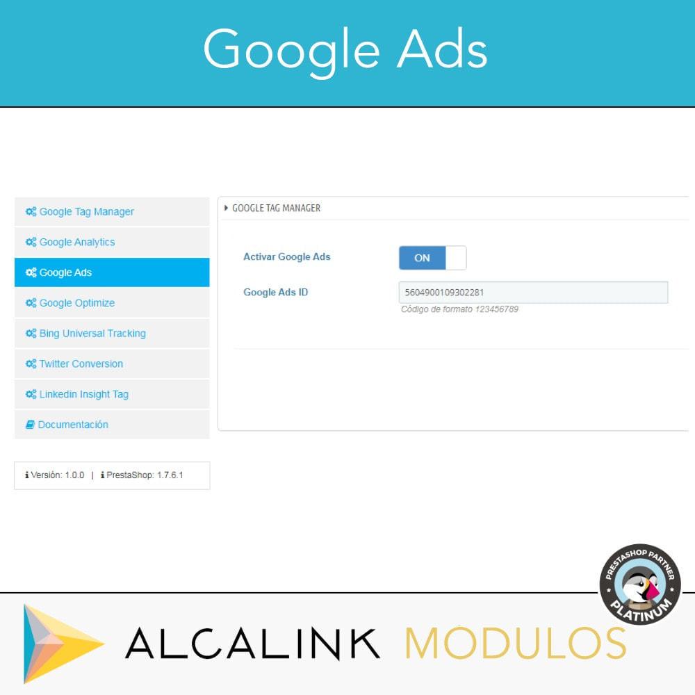 module - Informes y Estadísticas - Google Tag Manager + Complementos. Actividad usuarios. - 5