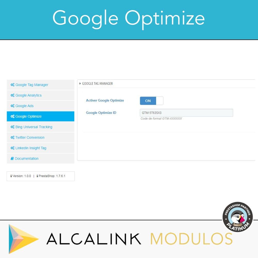 module - Analyses & Statistiques - Google Tag Manager + Add-ons. Activité de l'utilisateur - 6