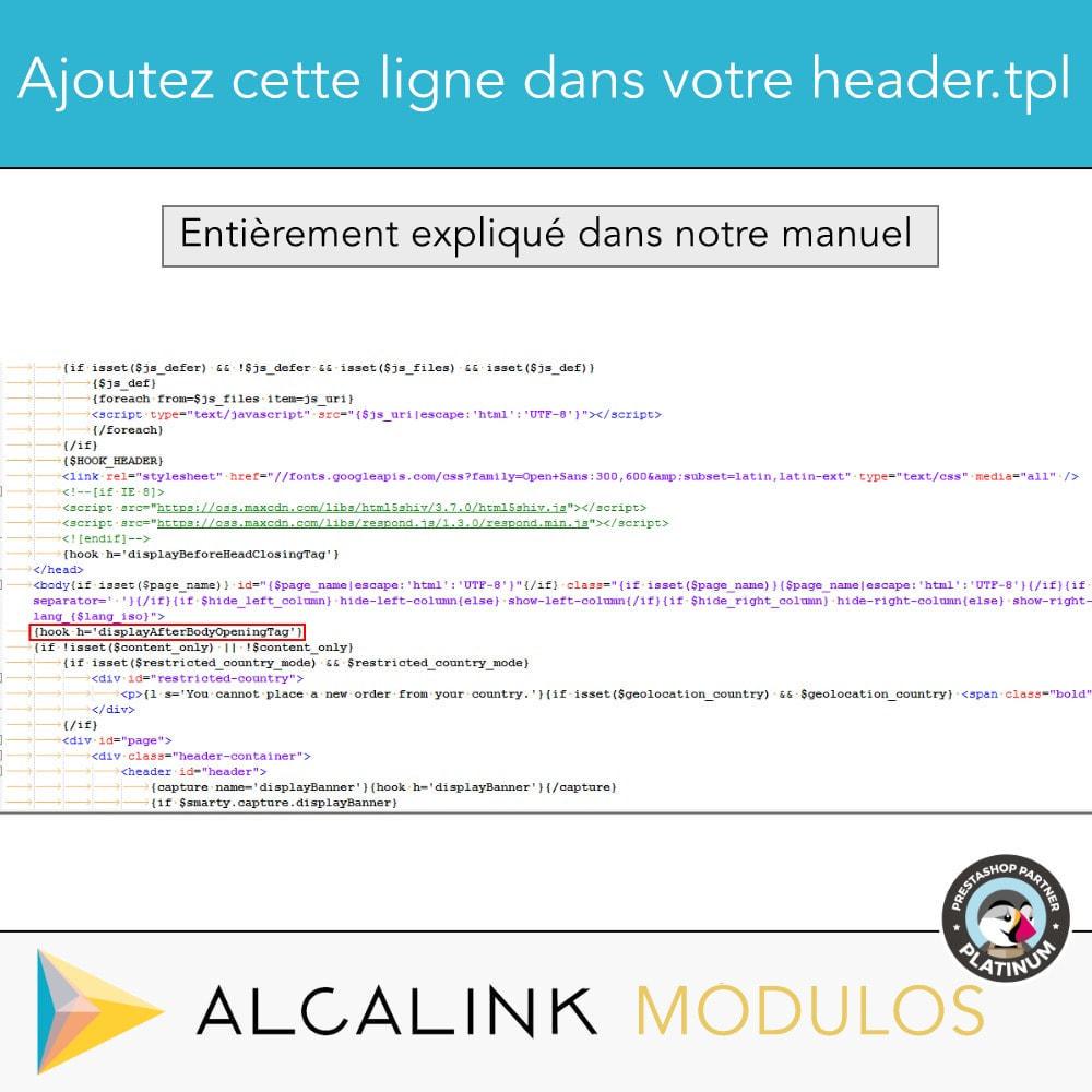 module - Analyses & Statistiques - Google Tag Manager + Add-ons. Activité de l'utilisateur - 11