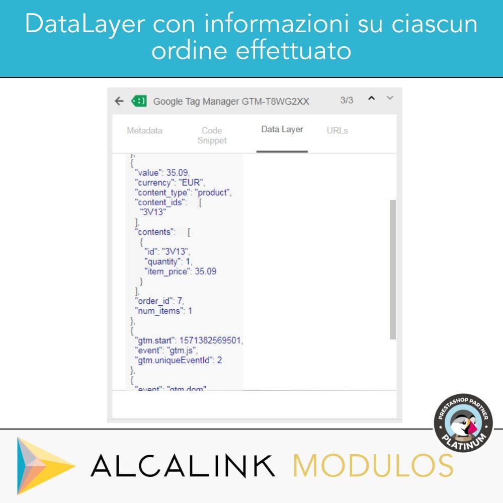 module - Analytics & Statistiche - Google Tag Manager + complementi. Attività dell'utente - 3