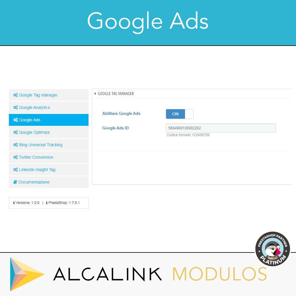 module - Analytics & Statistiche - Google Tag Manager + complementi. Attività dell'utente - 5