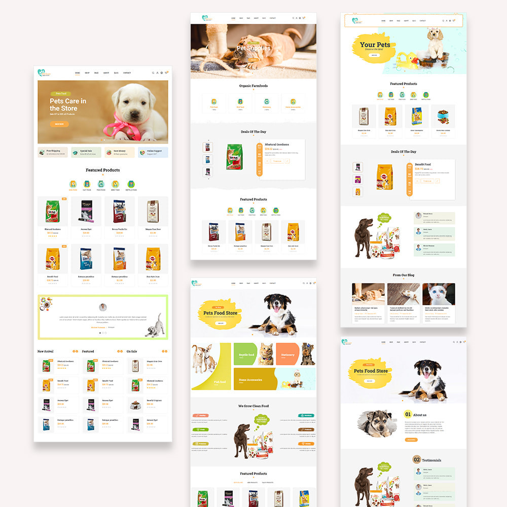 theme - Animaux - Pet Love Store - 2