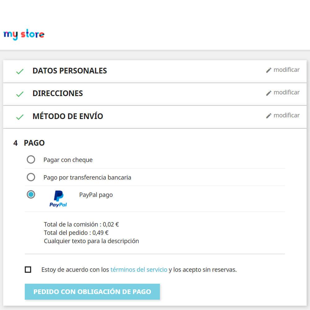 module - Otros métodos de pago - Personalizado método de pago - 2