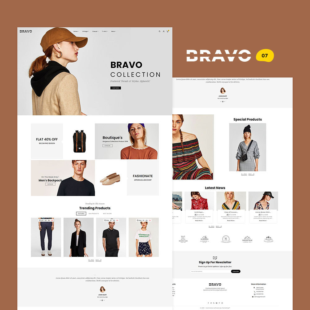 theme - Fashion & Shoes - BRAVO - Multi Purpose Boutique Shop - 8