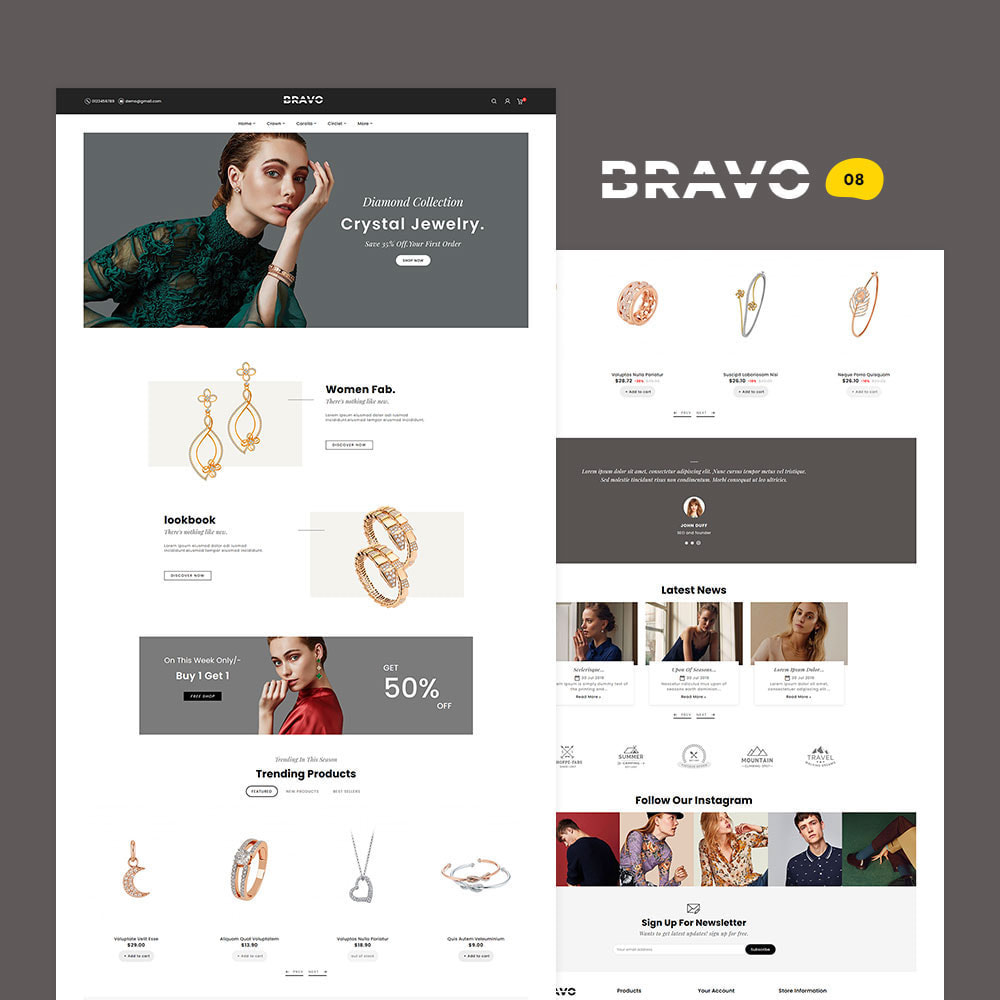 theme - Fashion & Shoes - BRAVO - Multi Purpose Boutique Shop - 9