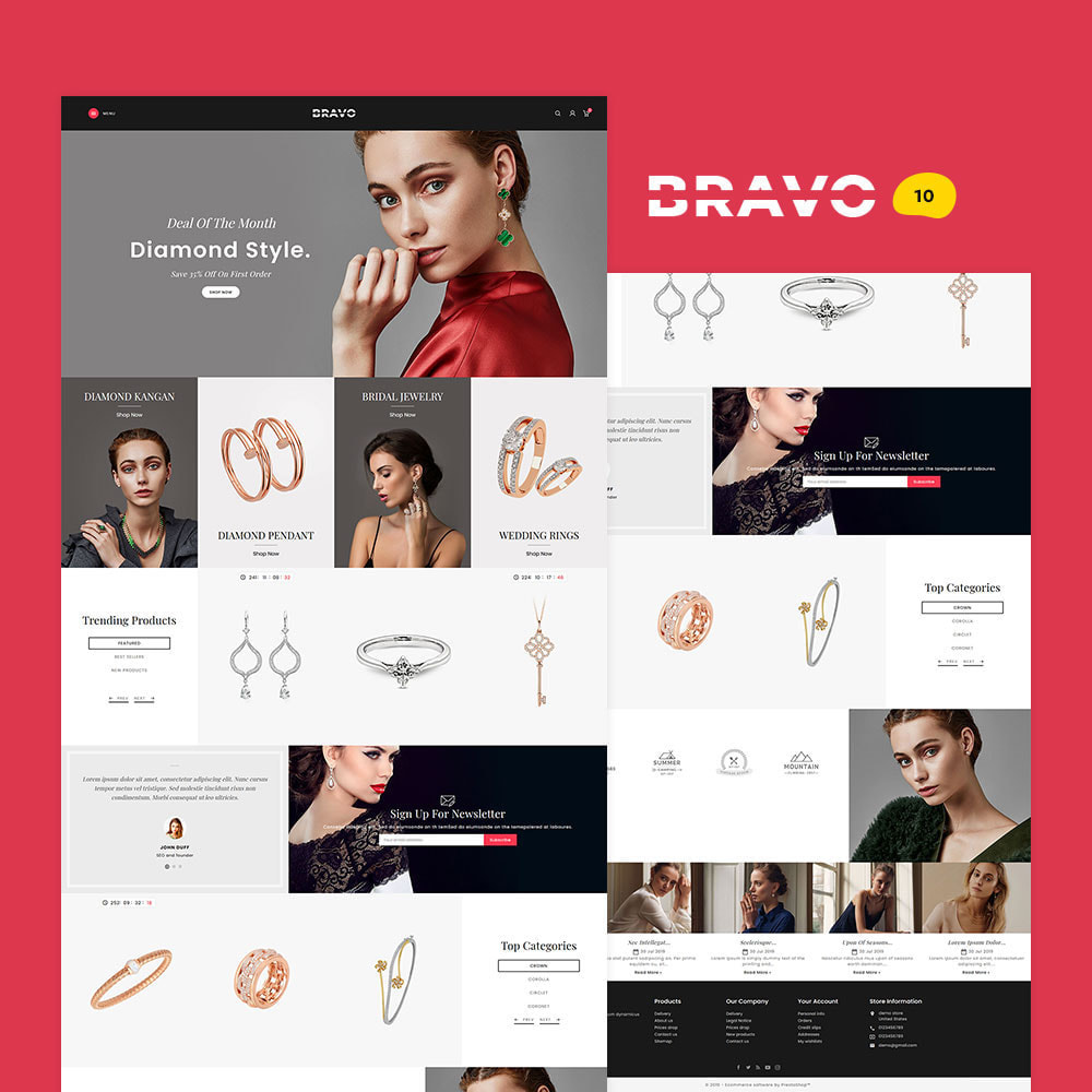 theme - Fashion & Shoes - BRAVO - Multi Purpose Boutique Shop - 11