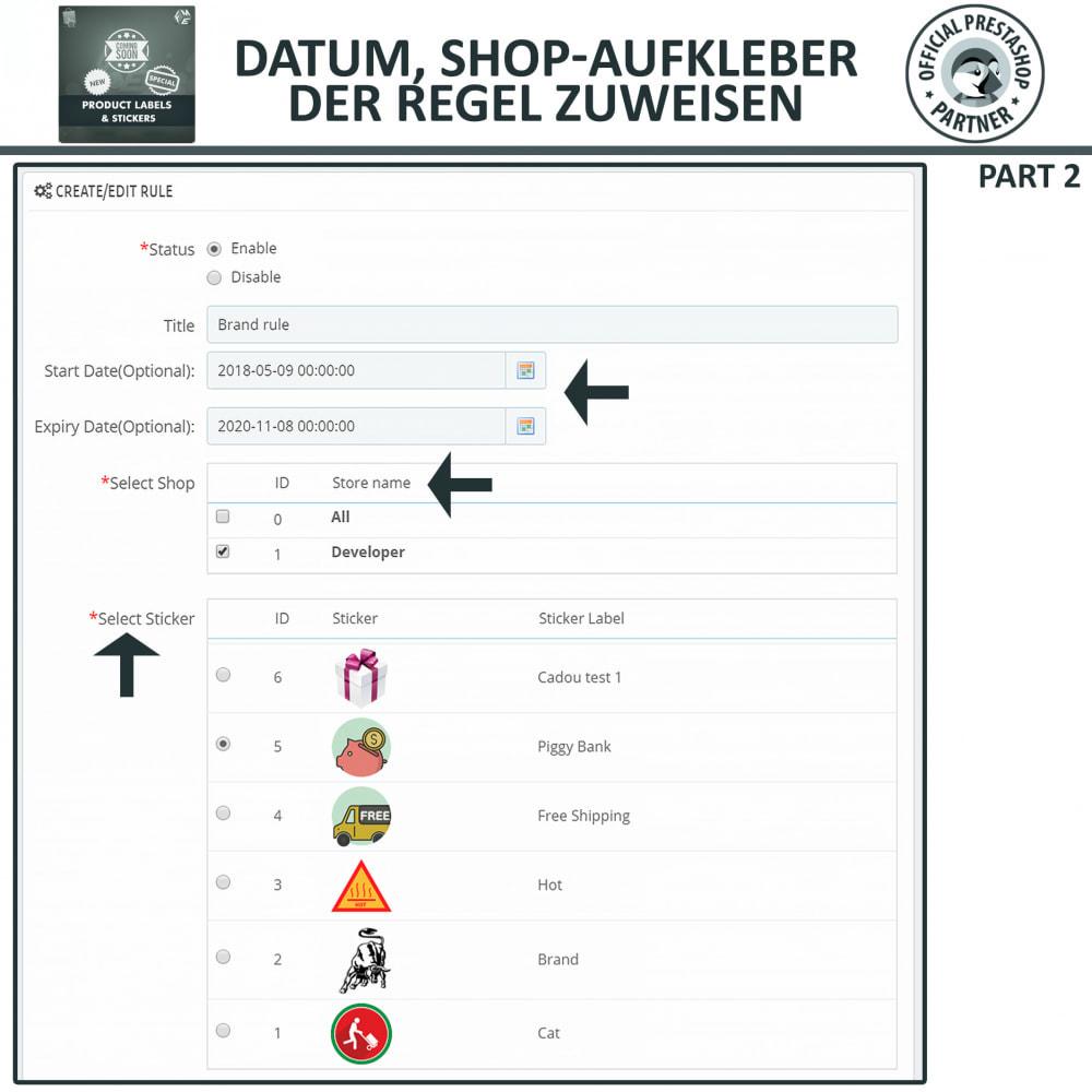 module - Badges & Logos - Produktaufkleber und Aufkleber - 14