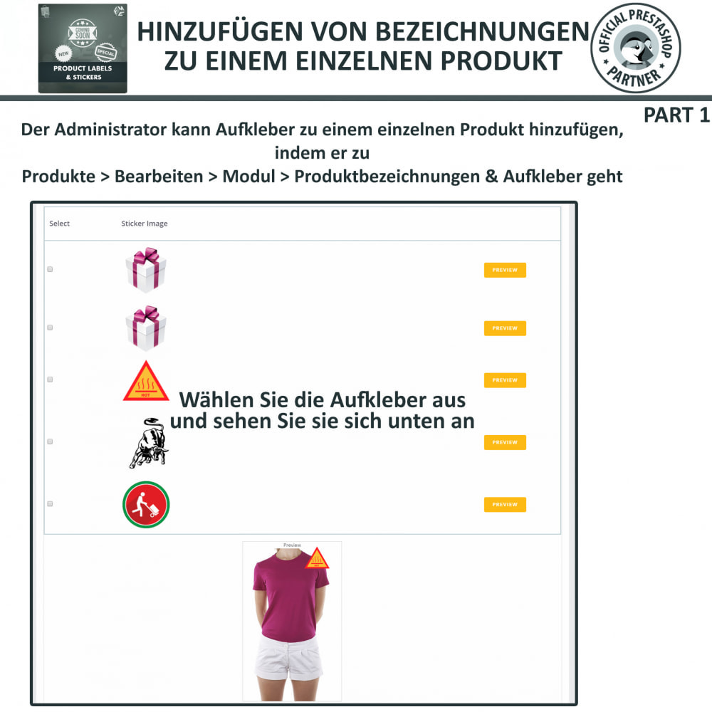 module - Badges & Logos - Produktaufkleber und Aufkleber - 17