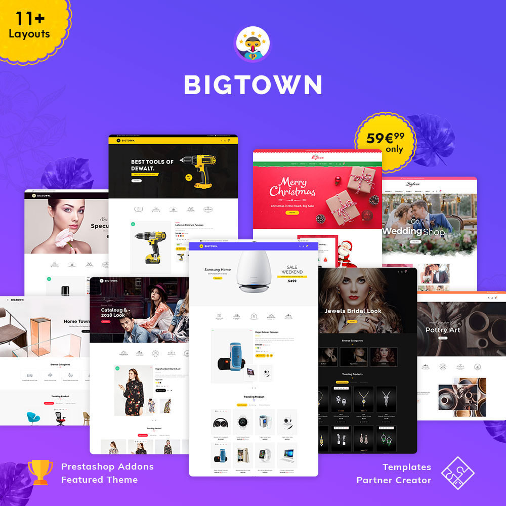 theme - Electronique & High Tech - Bigtown - Multi Purpose Store - 1