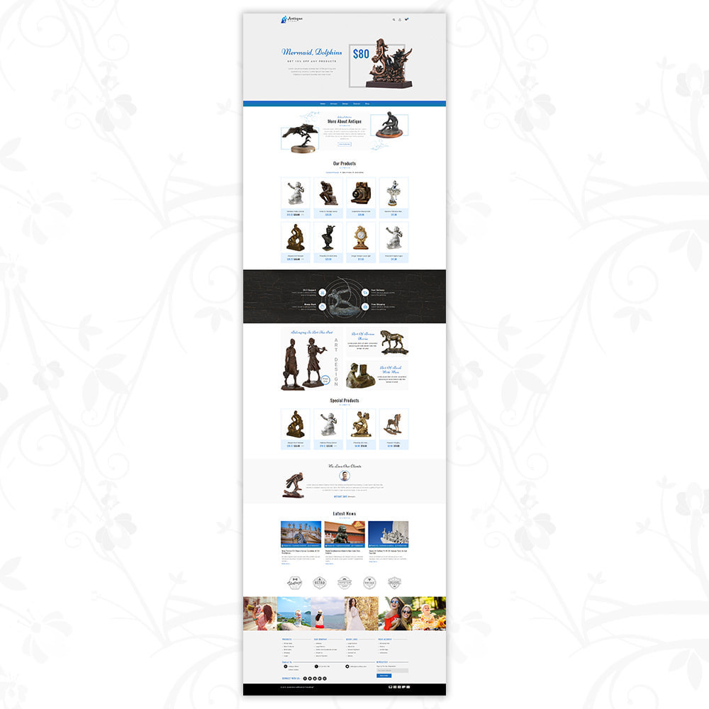 theme - Art & Culture - Antique products store - 2