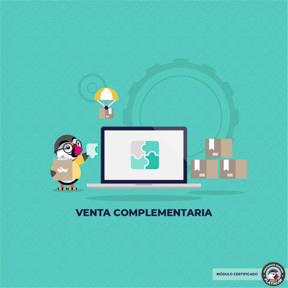 module - Ventas cruzadas y Packs de productos - Pack Ventas complementarias - 1