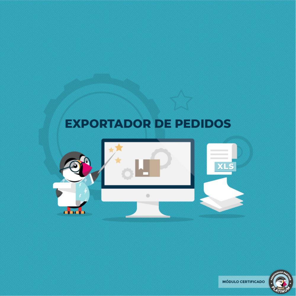module - Importación y Exportación de datos - Export Orders - 1