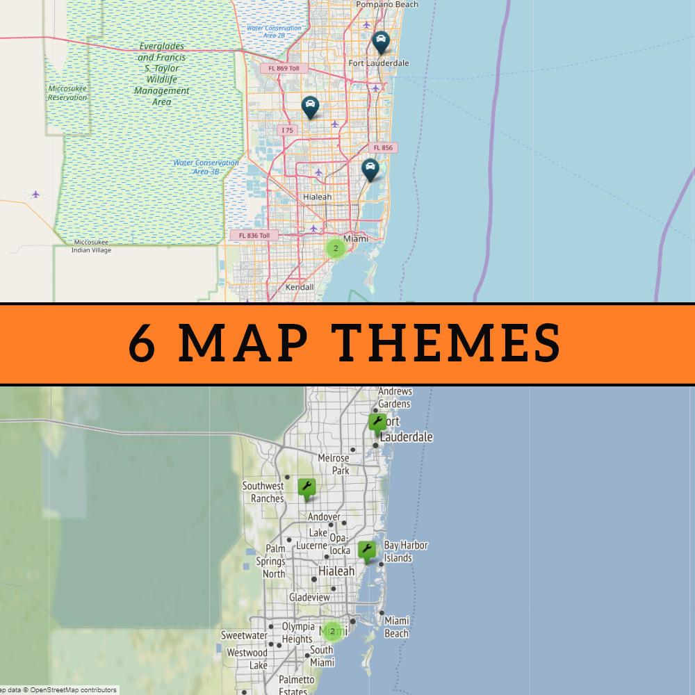 module - Internationaal & Lokalisatie - Store Locator (FREE - No Google Maps) - 2