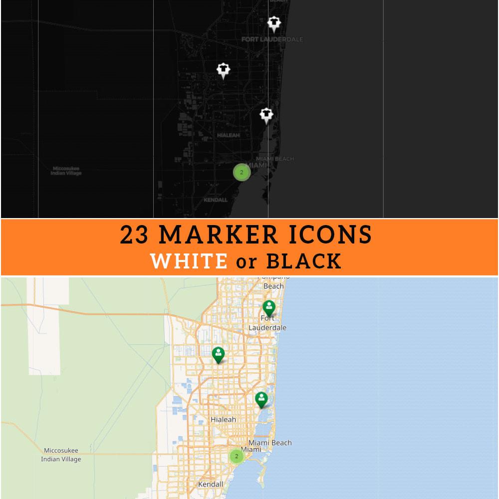 module - Internationaal & Lokalisatie - Store Locator (FREE - No Google Maps) - 3