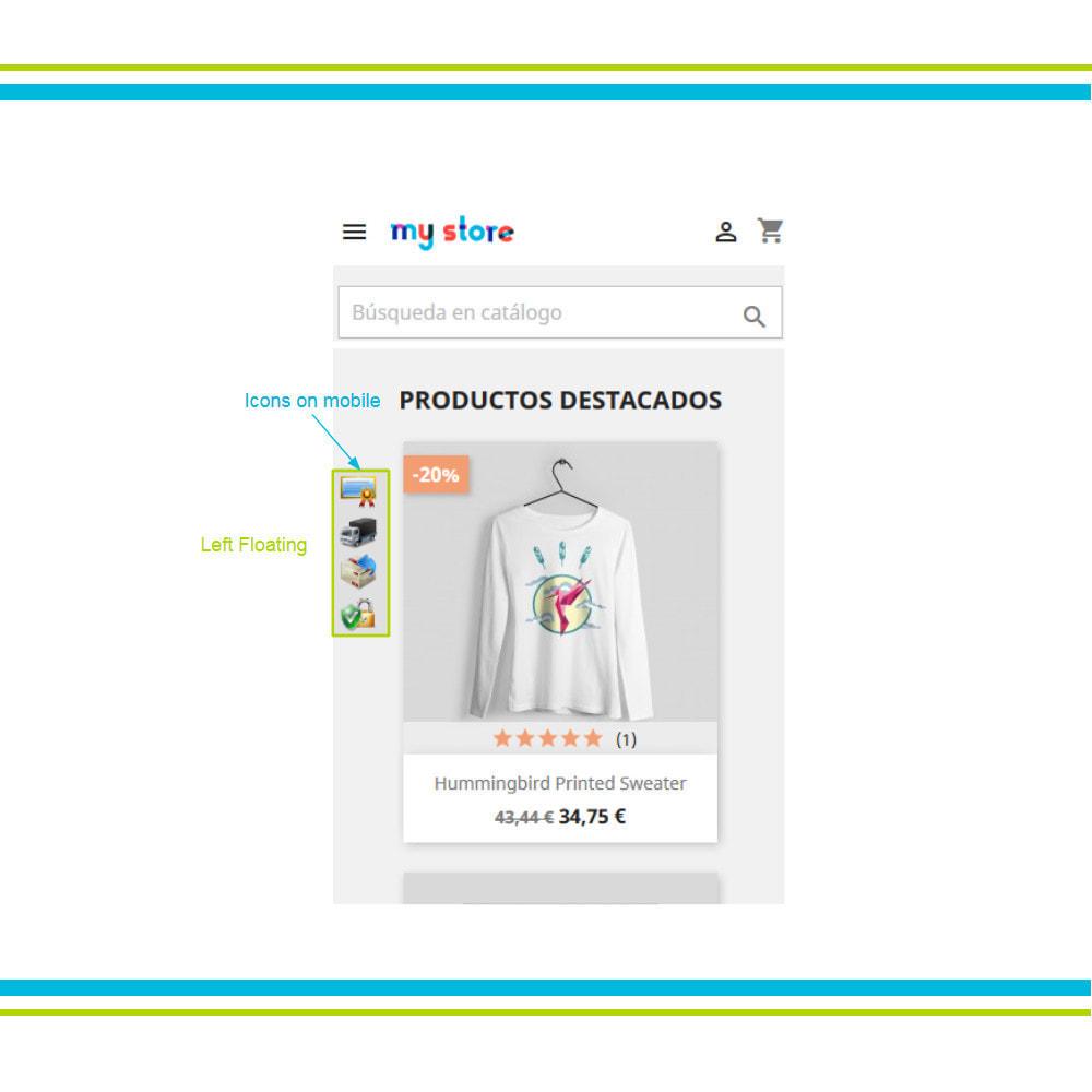 module - Personalizzazione pagine - Aggiungi elementi di fiducia multipli animati - Lottie - 18