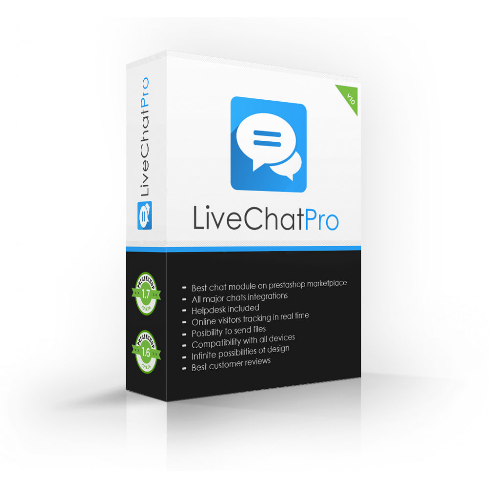 module - Supporto & Chat online - Live Chat Pro (All in One) - 1