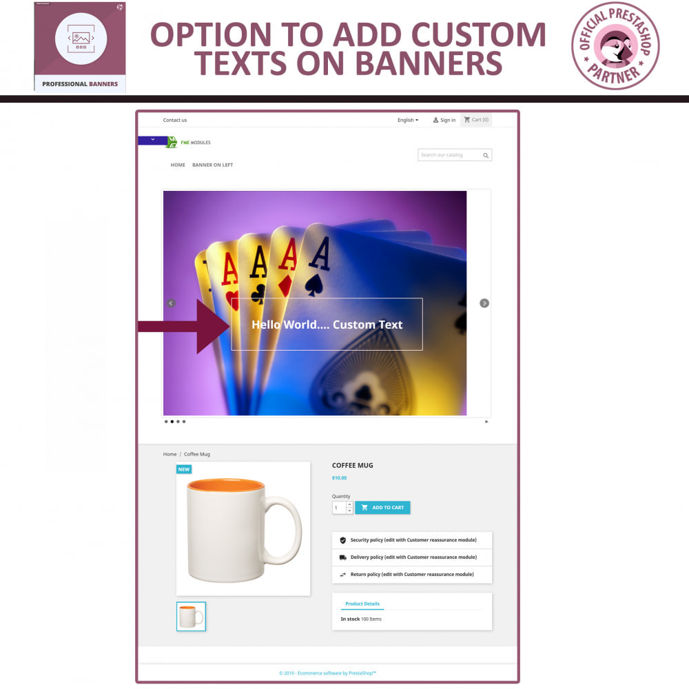 module - Slidery & Galerie - Professional Banners - Responsive Banner & Image Slider - 3
