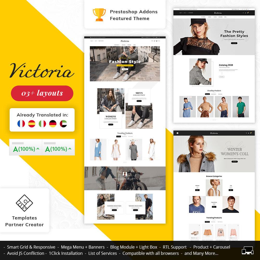 theme - Fashion & Shoes - Victoria Fashion Apparels - 1