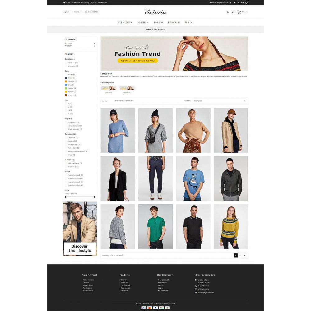 theme - Fashion & Shoes - Victoria Fashion Apparels - 5