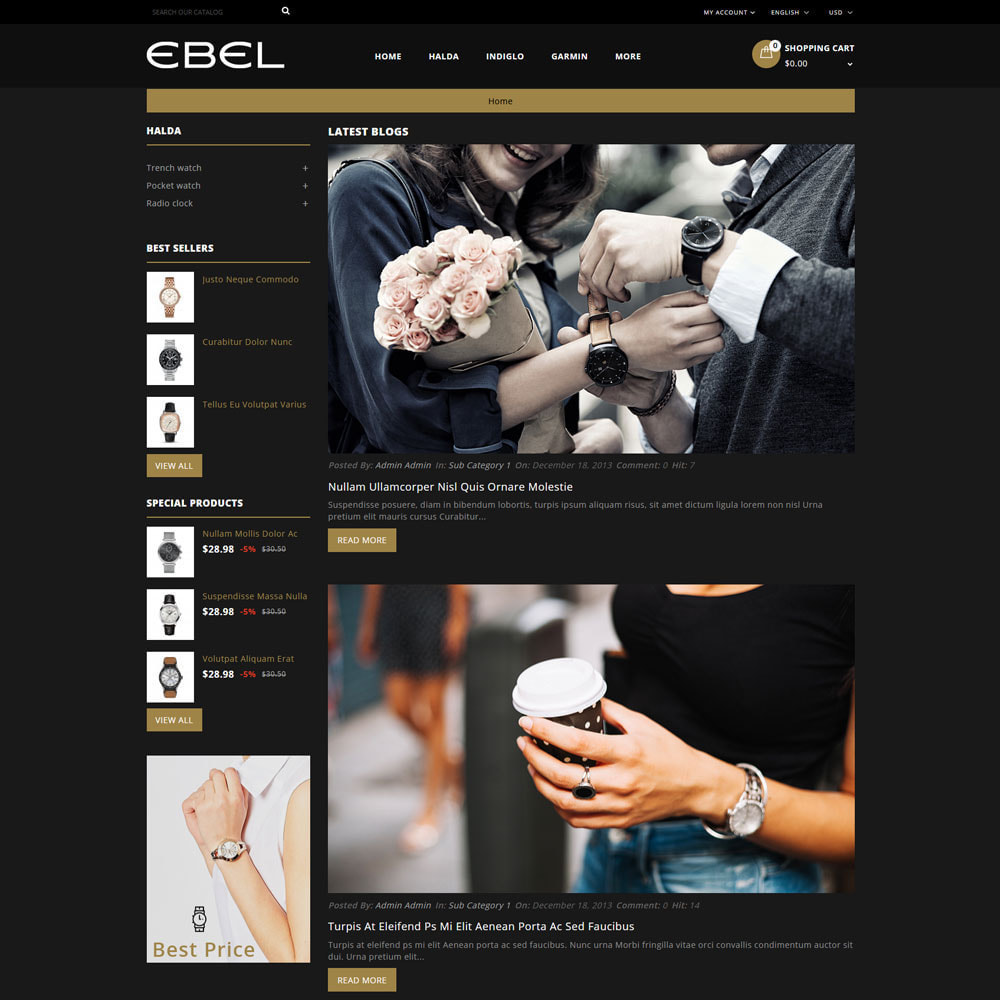 theme - Mode & Chaussures - Ebel Magasin de montres - 7