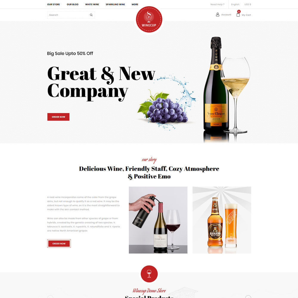 theme - Drink & Wine - Winecup - The Wine Shop - 3