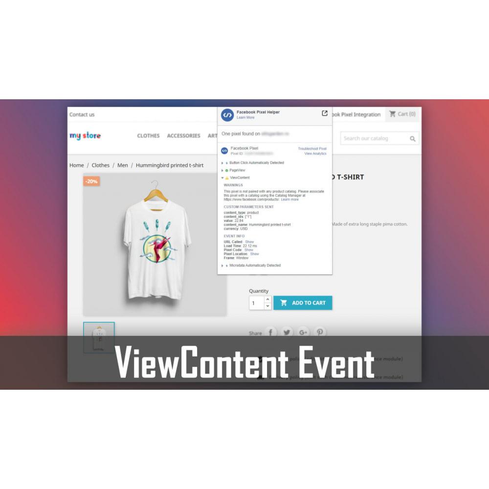 module - Werbung & Marketing - Pixel Integration - Conversions & Remarketing - 2