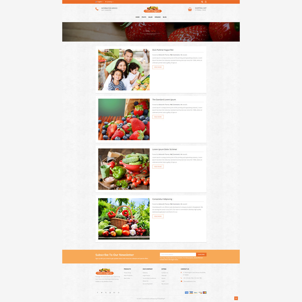theme - Alimentation & Restauration - Magasin bio - 5