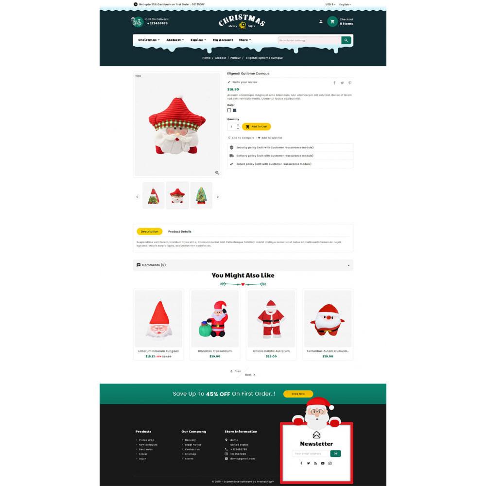 theme - Presentes, Flores & Comemorações - Merry Christmas & Gifts - 5