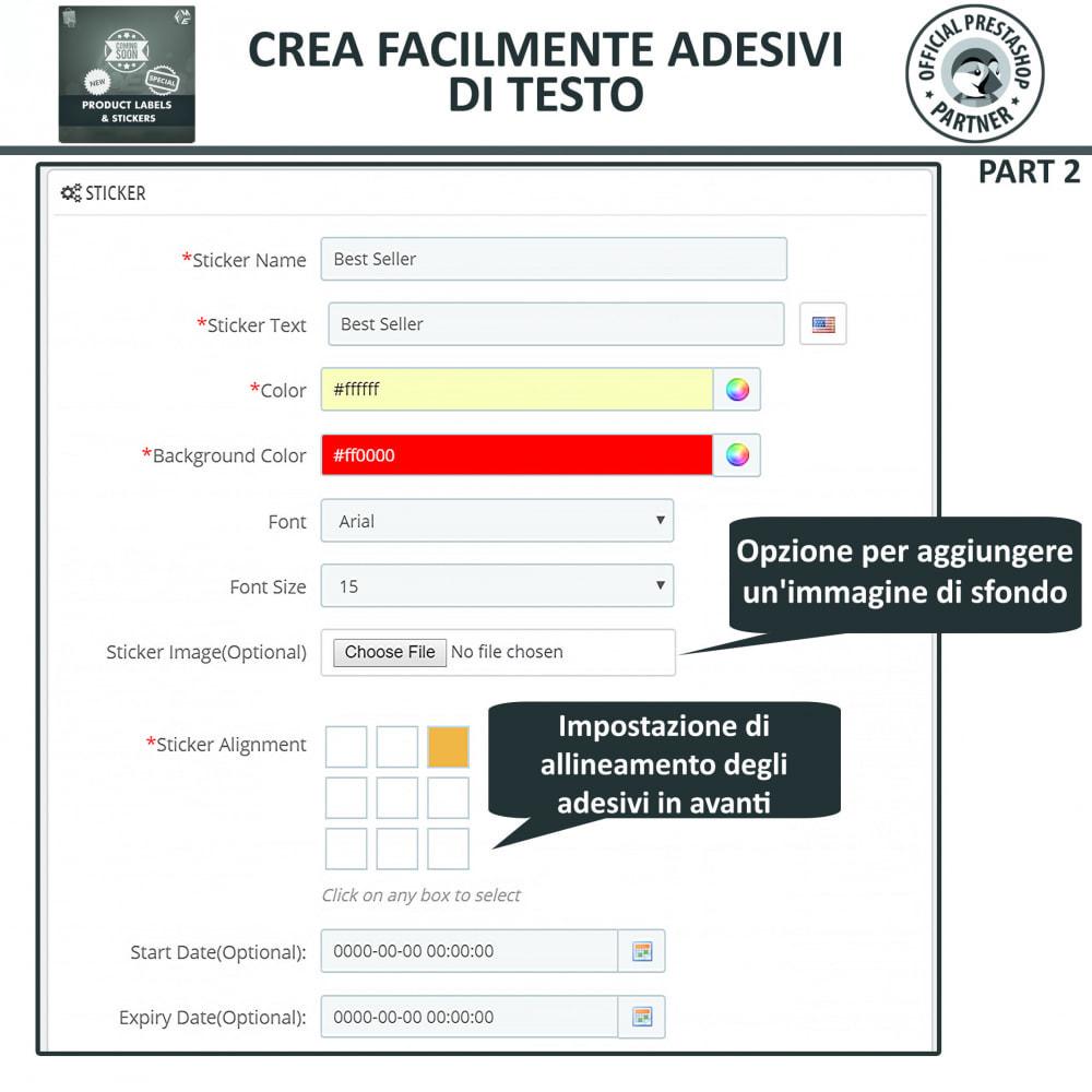 module - Badge & Loghi - Etichette e Adesivi per Prodotti - 9