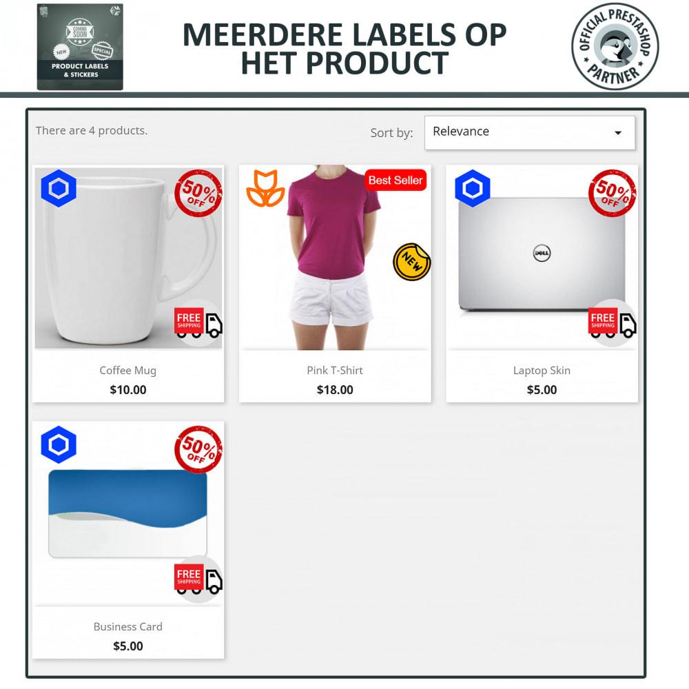 module - Badges & Logos - Product Labels en Stickers - 3