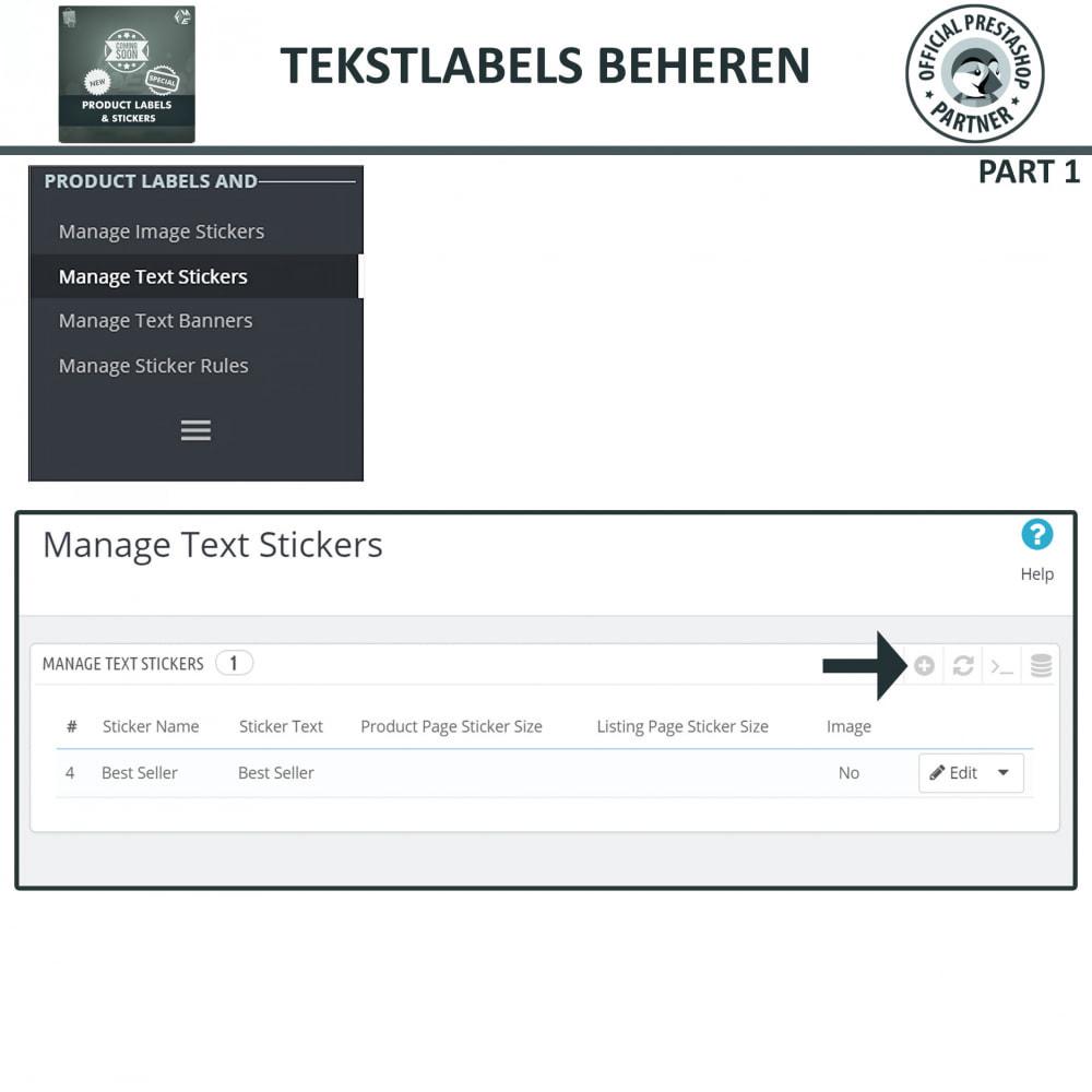 module - Badges & Logos - Product Labels en Stickers - 8