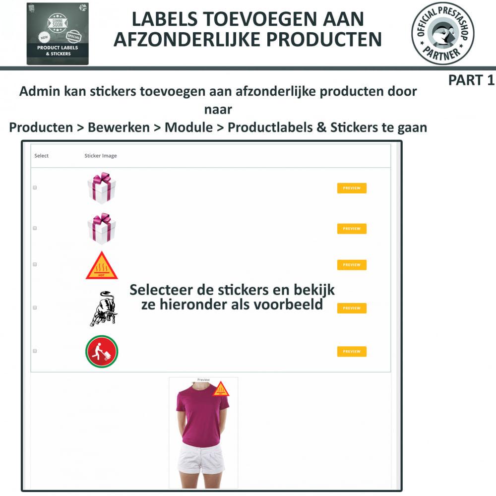 module - Badges & Logos - Product Labels en Stickers - 17