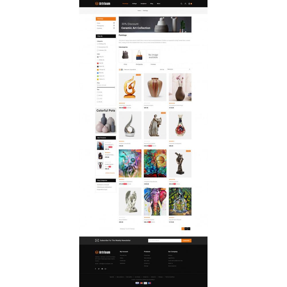 theme - Art & Culture - Artrisum - Art & Print Store - 3