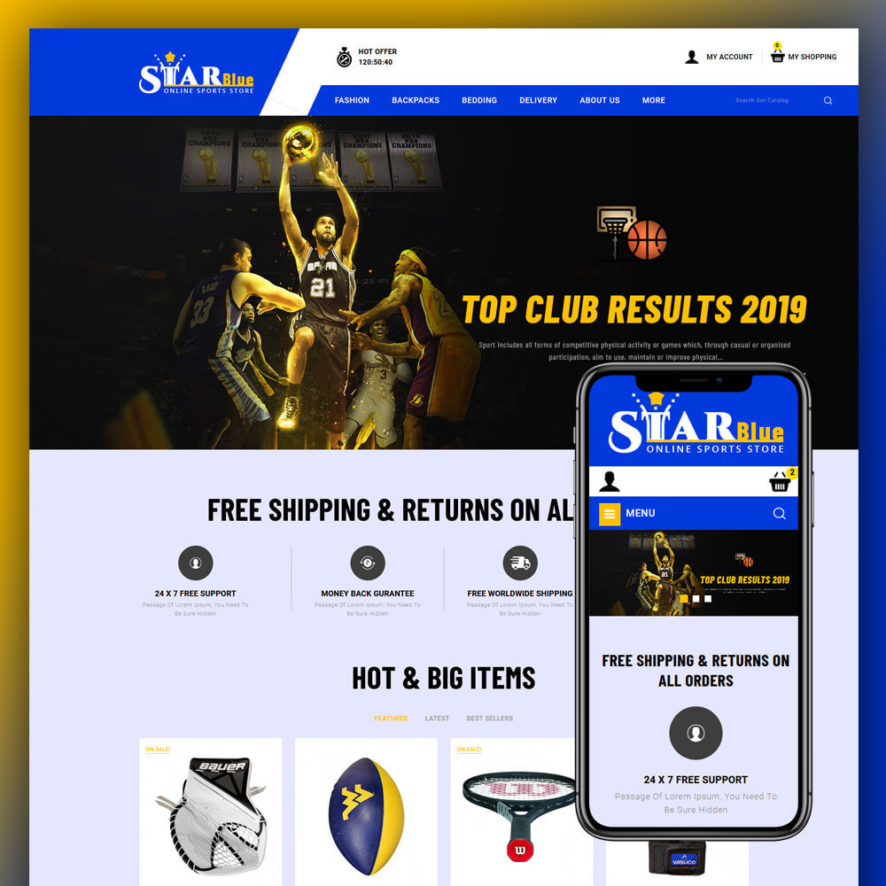 theme - Sport, Loisirs & Voyage - Starblue - Sport Store - 1