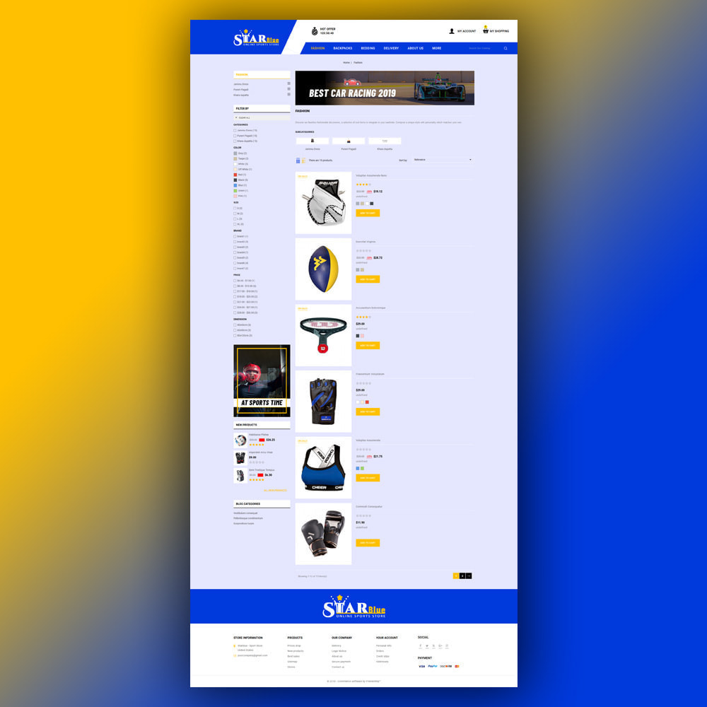 theme - Sport, Loisirs & Voyage - Starblue - Sport Store - 5
