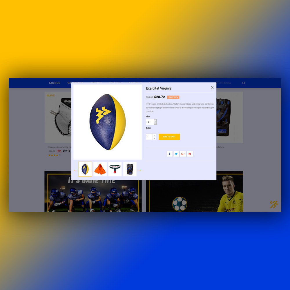 theme - Sport, Loisirs & Voyage - Starblue - Sport Store - 9