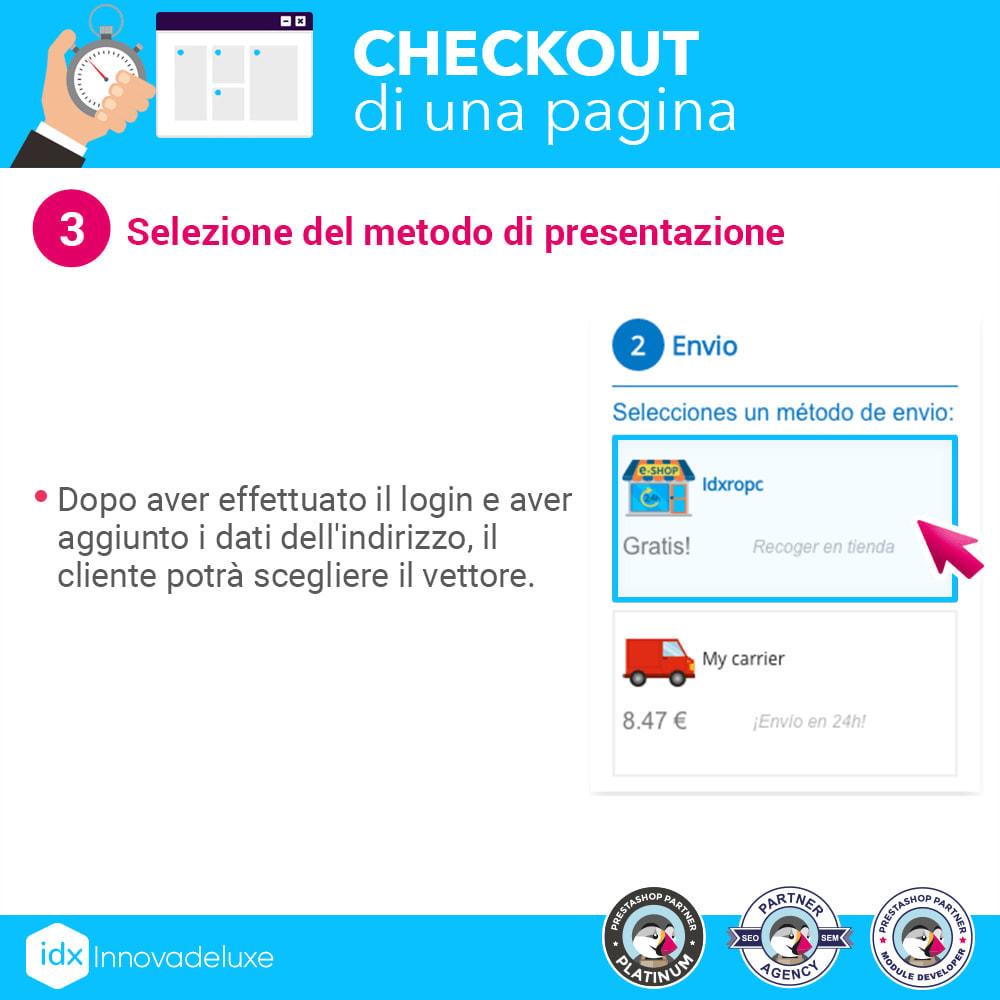module - Express Checkout - Checkout in una pagina - Processo di acquisto veloce - 8