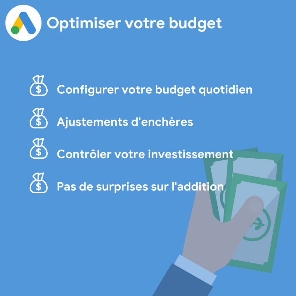module - Référencement payant (SEA SEM) & Affiliation - Ads on Google (Google Shopping + Dynamic Remarketing) - 3